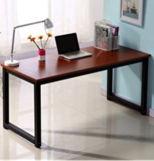 computer office table. Office Computer Desk 55in Large Study Writing Workstation For Home Teak+black Table