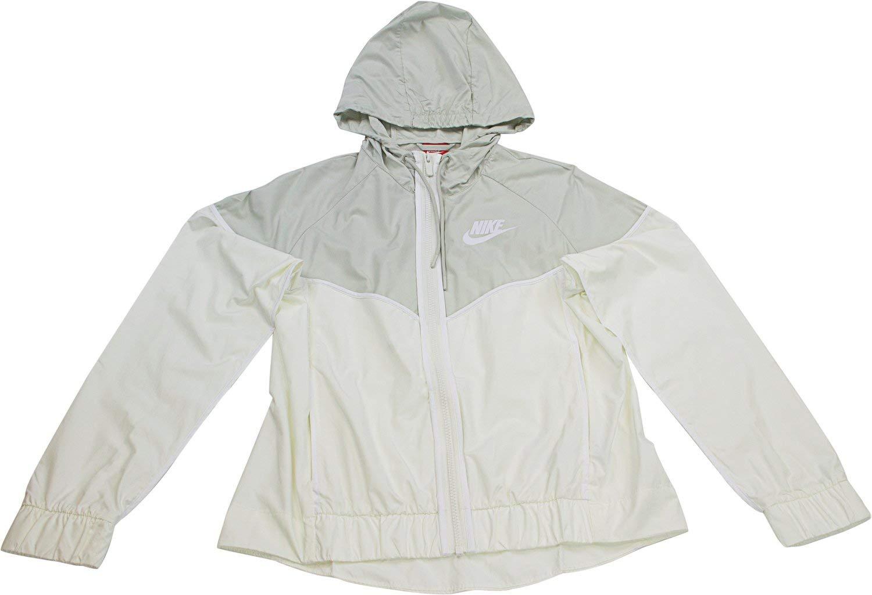Nike Womens Windrunner Track Jacket Sail/Light Bone/White 883495-133 Size X-Small by Nike (Image #1)