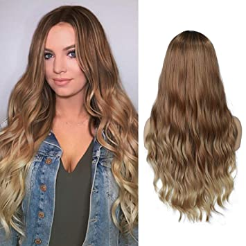 Fashion Wigs Layered Curly Thick Wave Party Cosplay Wigs Full Synthetic Wig Wigs
