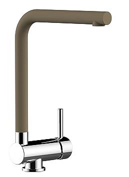 12ecb7262da75 Mélangeur évier robinet cuisine rabattable 6cm bec QUARTZ BEIGE ( SABLE )  pivotant    robinet