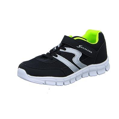 Sneakers BNS15057 Jungen KlettverschlussSlipper Halbschuh