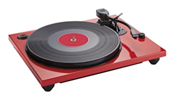 Bigben Interactive TD114R Rojo tocadisco - Tocadiscos (Rojo ...