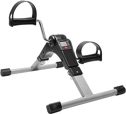 Details about  /Folding Pedal Exerciser Fitness Portable Adjustable Mini Exercise Bike Leg Arm
