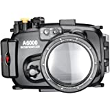 Neewer 40m 130ft Underwater PC Housing Camera Waterproof Case for Sony A6000 with 16-50mm Lens