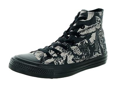 862381396cb Converse Women s Chuck Taylor All Star Pop Art Print Hi Parchment Bl  Basketball Shoe 6