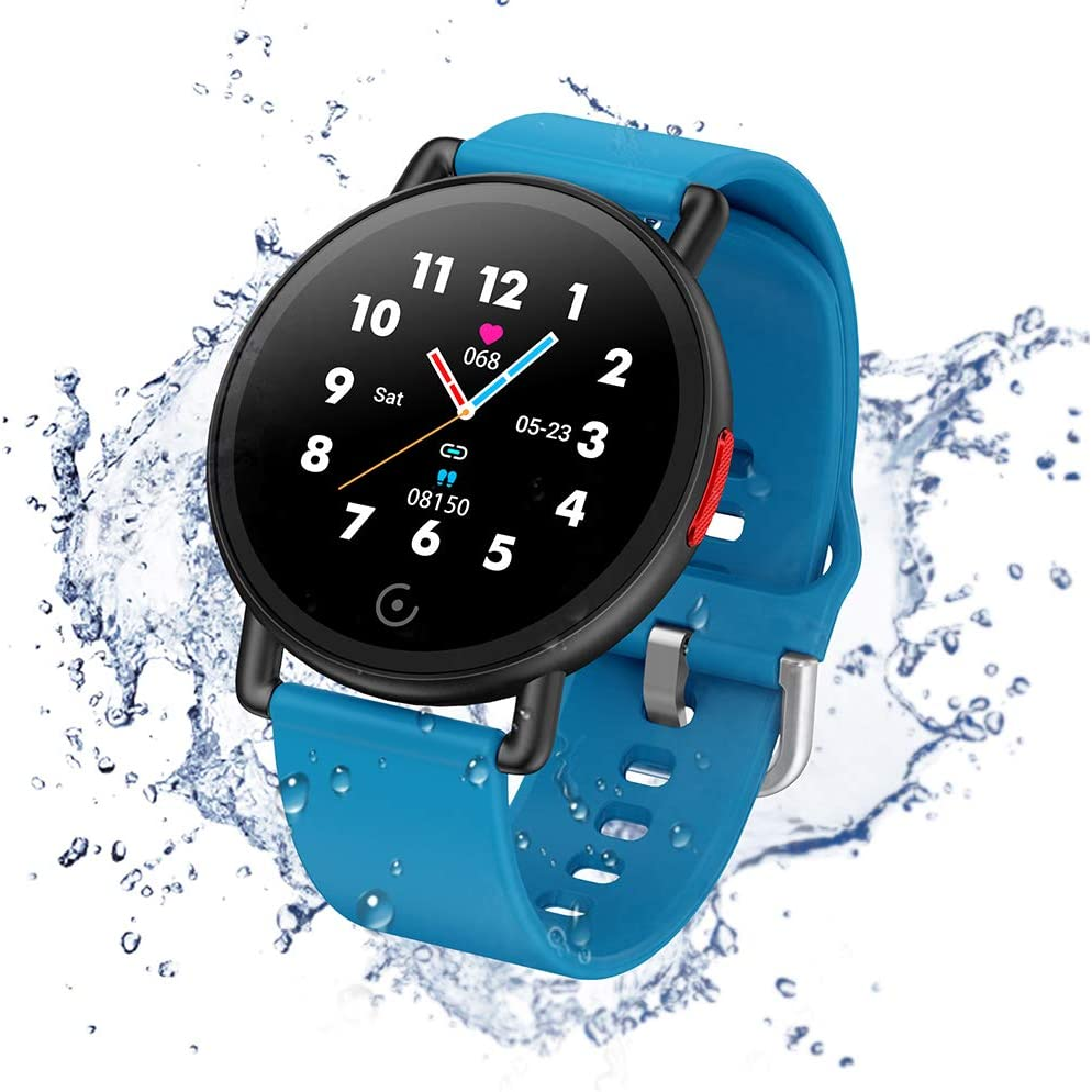 IP68 Waterproof Pedometer Smartwatch for Android and iOS for Women and Men Green ISZPLUSH Smart Watch Fitness Tracker with Blood Pressure Monitor Activity Tracker with 1.3 Colorful Touch Screen