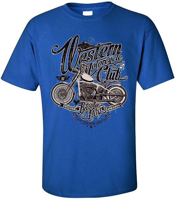 PAPAYANA - WESTERN-CLUB - Herren T-Shirt - MOTORCYCLE HELLS BIKE:  Amazon.de: Bekleidung