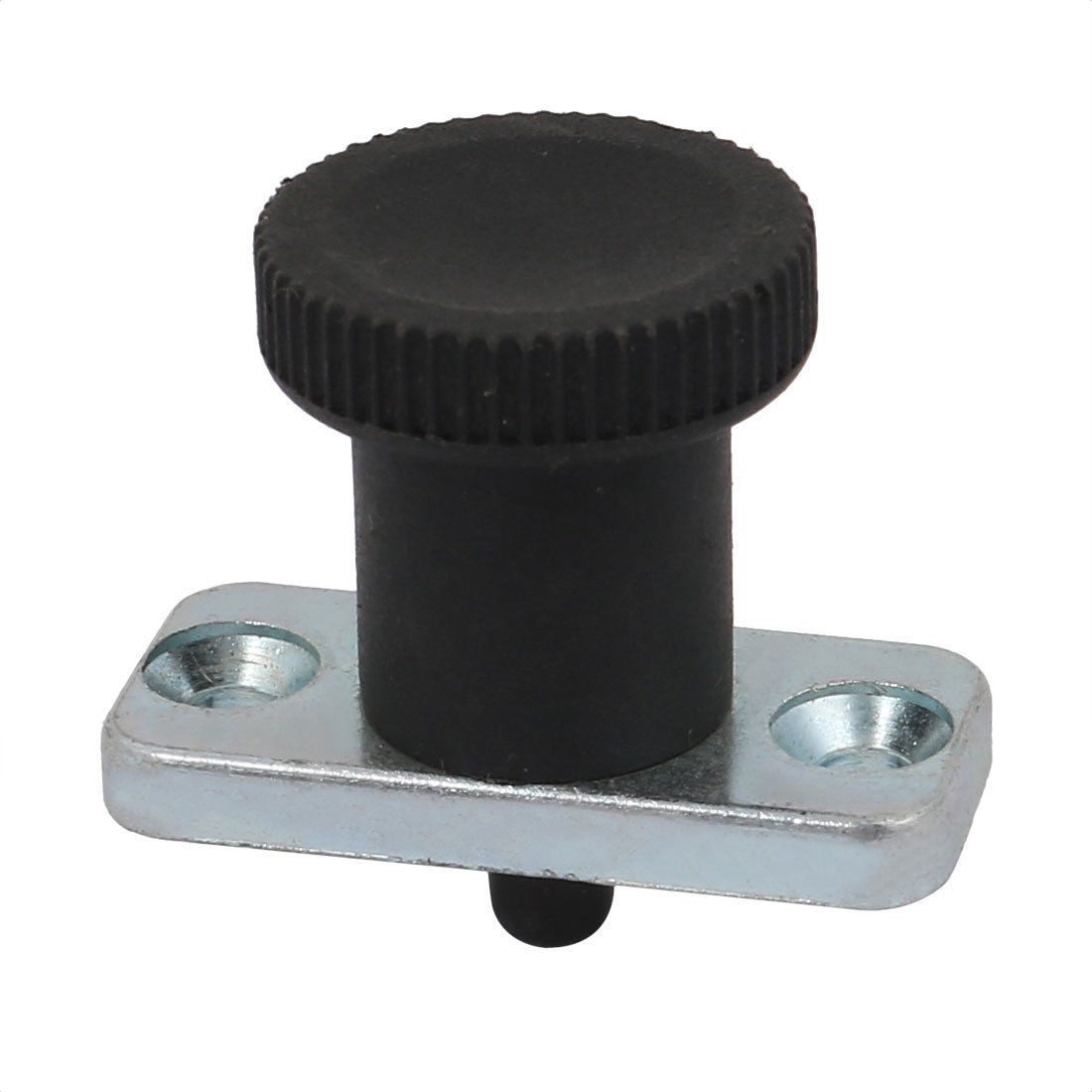 uxcell 6mm Pin Dia 6mm Pin Length Non Lock-Out Type Zinc Alloy Plate Mount Indexing Plunger