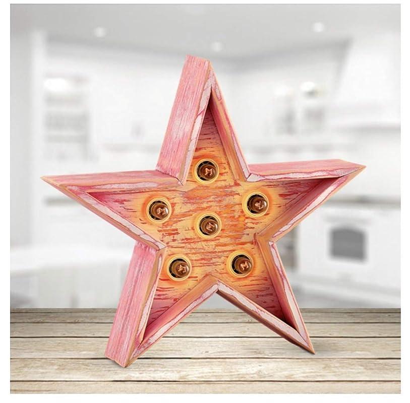 oferta navidad lampara con forma de estrella luminosa en madera ...