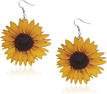 Gift Holidays Enchanted Sunflower Drop Dangle Earrings and Stud packs For Birthdays Celebrations