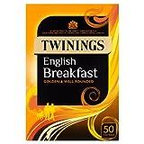 Twinings English Breakfast x50 Tea Bags, 125g