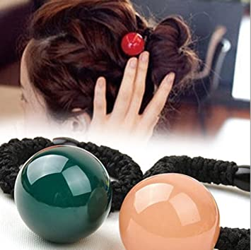 Amazon.com   Cuhair(tm) 3pcs (Mixed Color) Big Ball Design ce0b31a3b0e