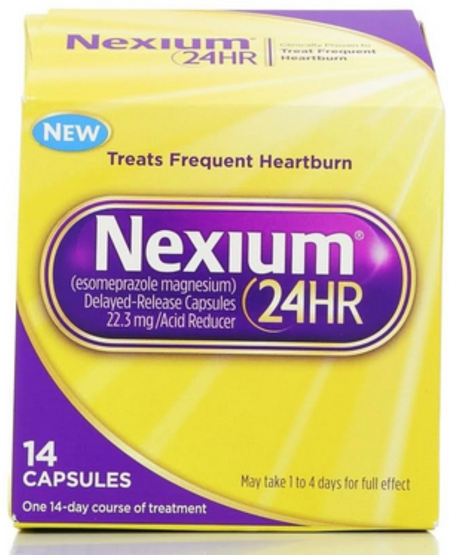 Nexium 24HR Capsules 14 ea (Pack of 11) by Nexium
