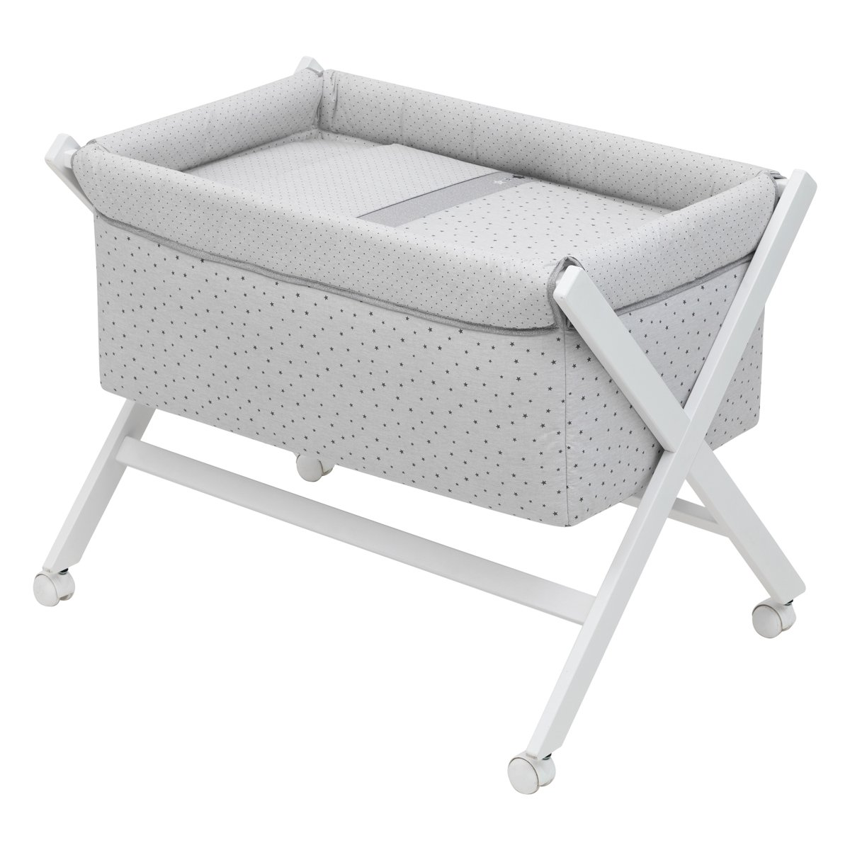 Cambrass Bed x Wood Une (55 x 87 x 74 cm, Small, Stela Grey) 37347.0