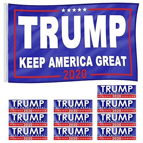 Best Flag Stickers For Cars - PACETAP 3x5ft President Donald Trump Flag