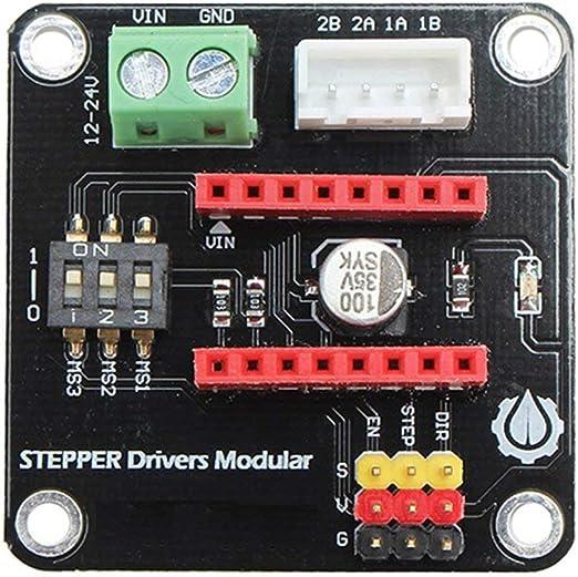 Placa de expansión DRV8825 / A4988 UNO R3 de la Impresora 3D 42CH ...