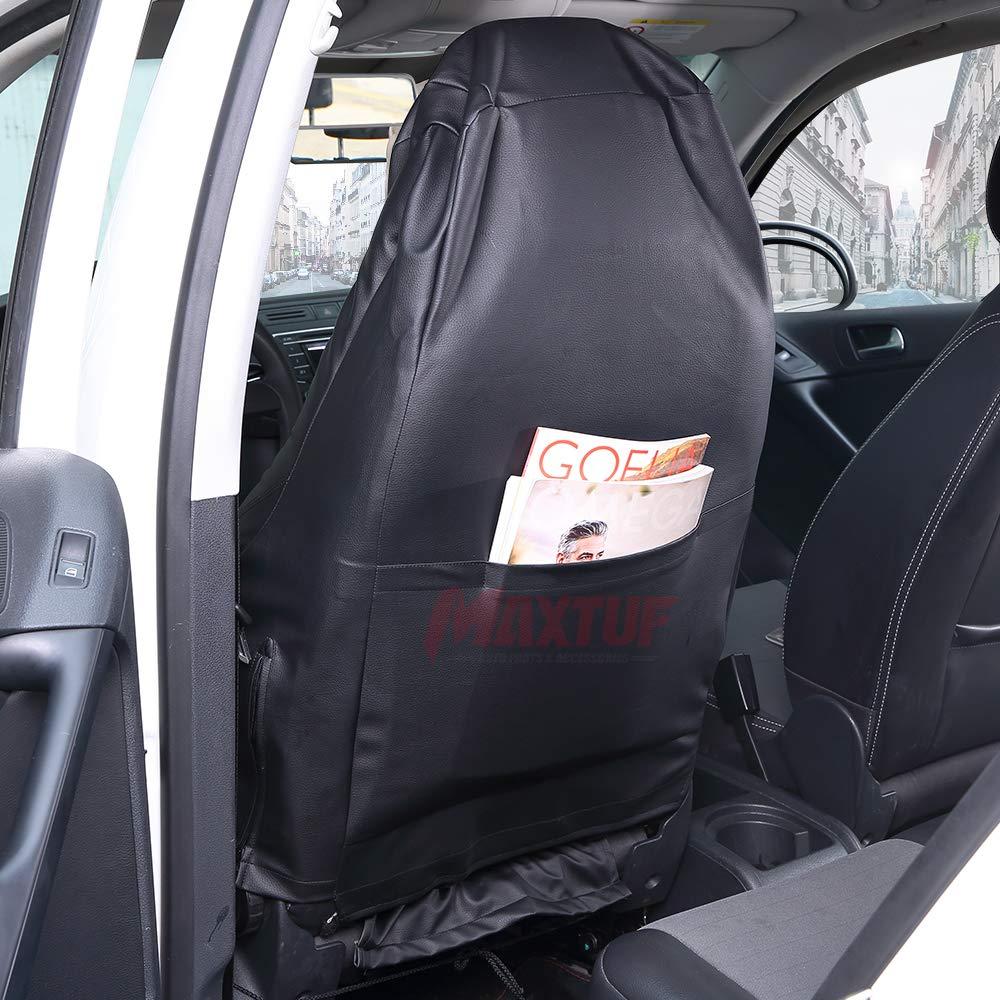 1pcs MAXTUF Einzelsitzbezug Vordere Auto Sitzbezug mit Seitenairbag Fahrersitz oder Beifahrersitz