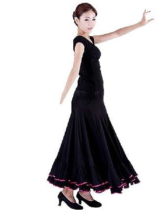 Spain Dancing Girls Flamenco Traje De Flamenca Long Skirt at ...