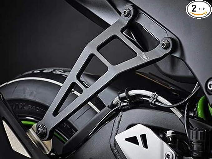MOTO4U Motorcycle Exhaust Hanger Bracket for KAWASAKI Ninja ZX10R 2011 2012 2013 2014 2015 2016 2017 2018 ZX10R Motorcycle Exhaust pipe fixing Accessories