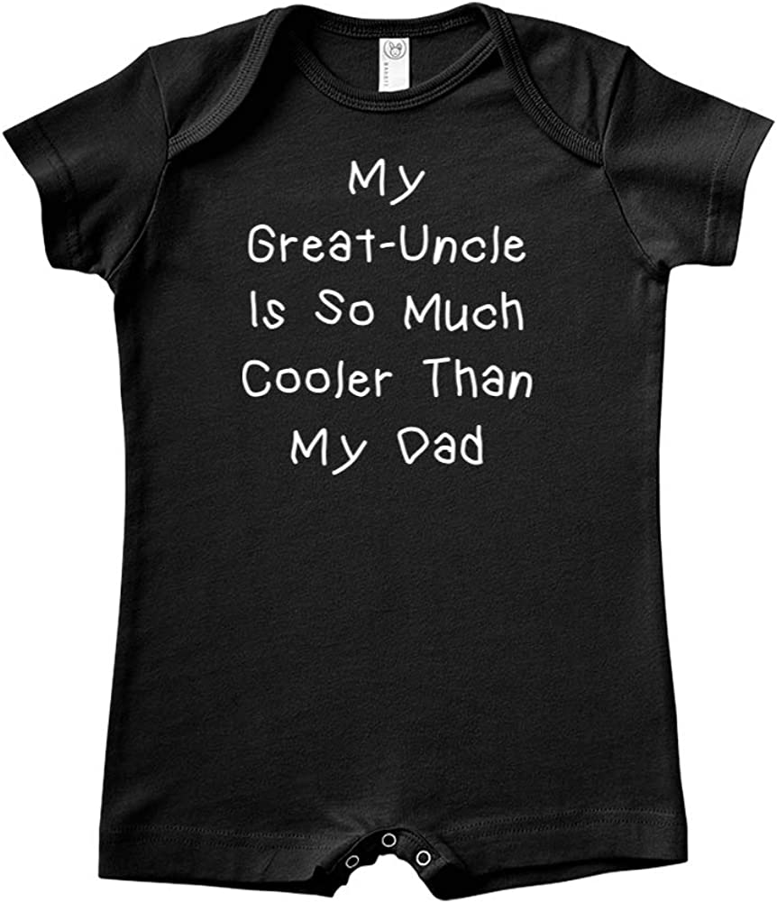 Baby Romper Mashed Clothing My Great-Uncle is So Much Cooler Than My Dad