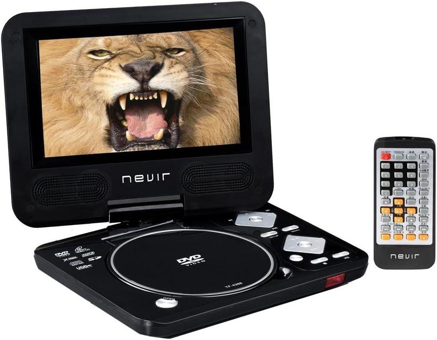 Nevir NVR-2729 DVD-PUC - Reproductor de DVD portátil: Amazon.es ...