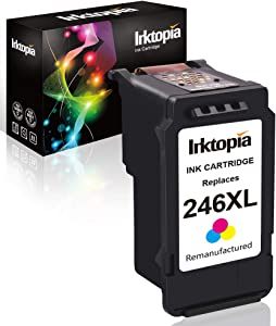 Inktopia Remanufactured Ink Cartridge Replacement for Canon 246XL CL 246 XL Cl-246Xl CL-244 (Single Color) for Canon PIXMA MG2520 MG2920 MG2922 MG2924 MG2420 MG2522 MG2525 MG3020 MG2555 MX490 MX492