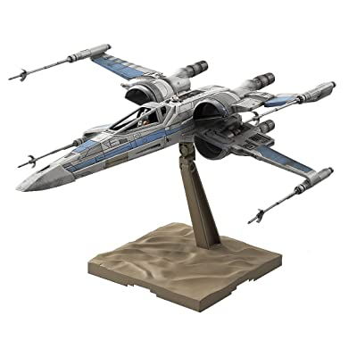 Bandai Star Wars 1/72 Scale X-Wing fighter Resistance Specifications Model: Toys & Games