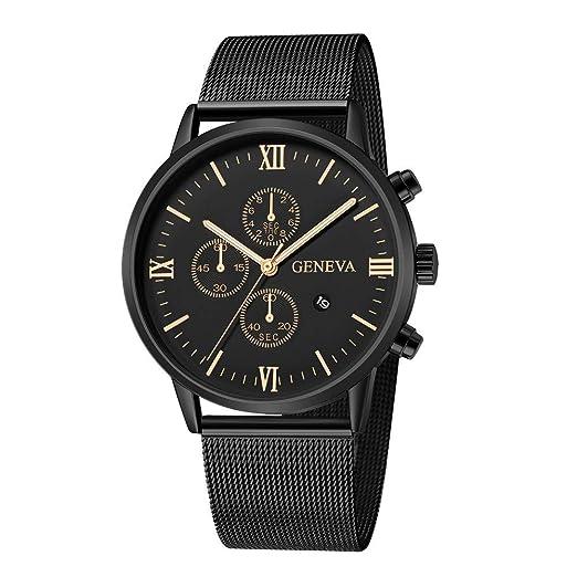 baratas para descuento 79edb 050f9 Relojes Elegante Hombre, Aobuang Moda Acero Inoxidable ...