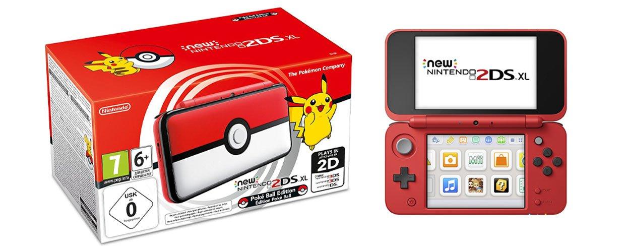 Nintendo NEW 2DS XL Edición Pokeball, Consola de juegos ...
