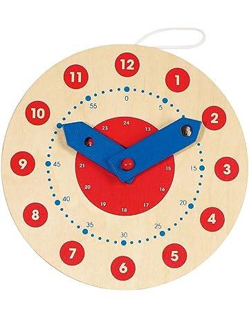 Goki Juegos Educativos Reloj, Aprende a Leer la Hora 58980