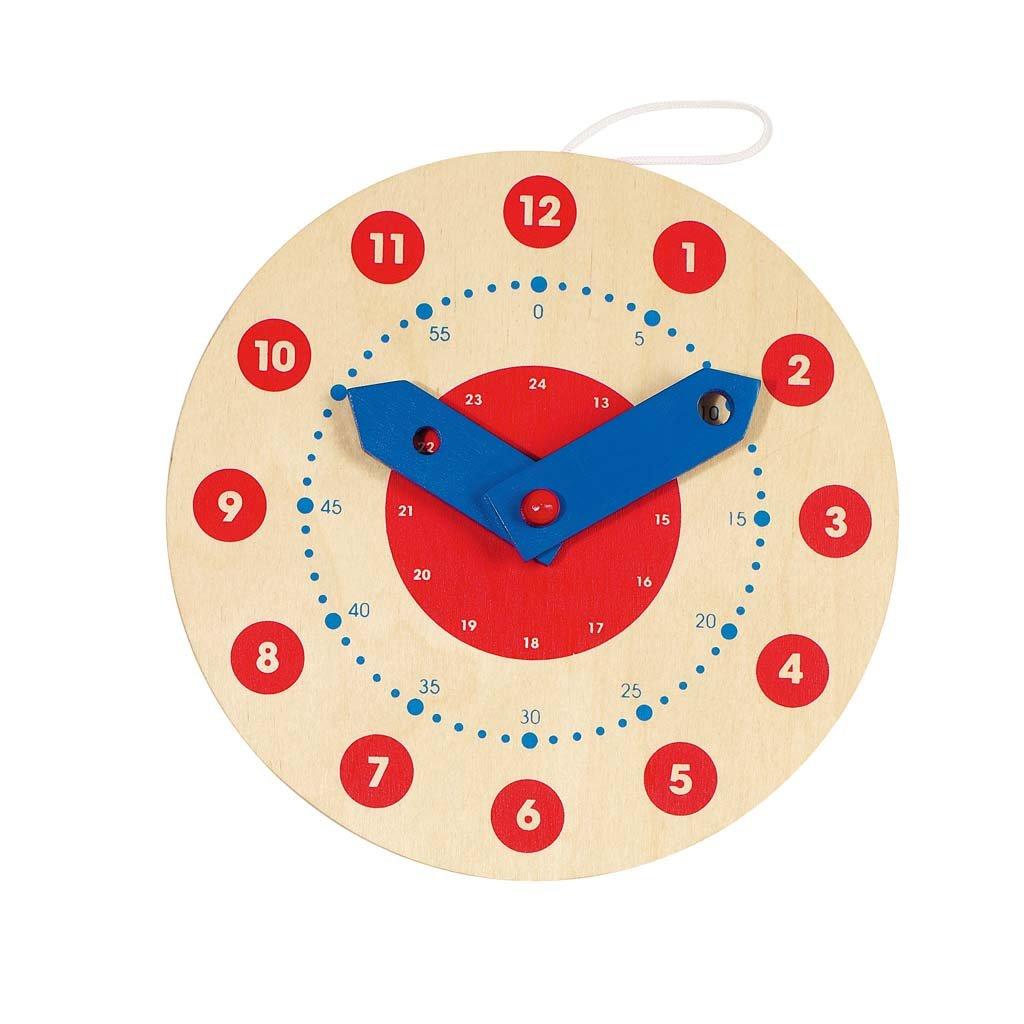 Worksheet Clocks For Learning goki wooden learning clock amazon co uk toys games