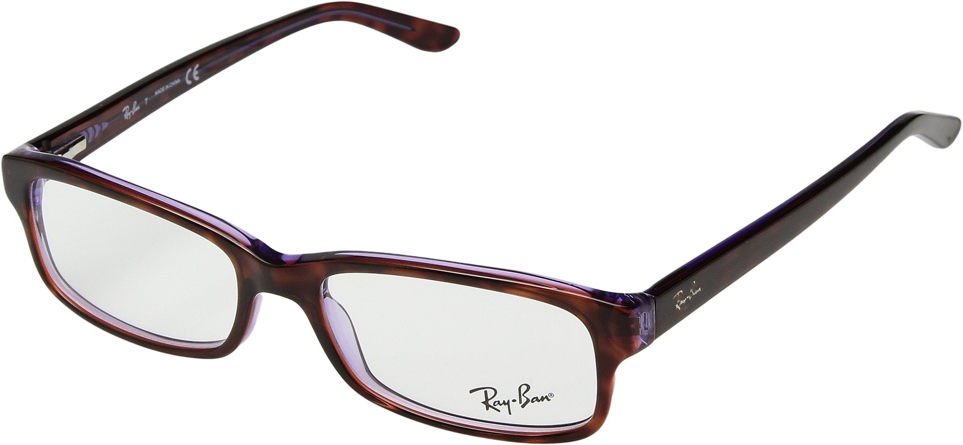 Ray-Ban Unisex 0RX5187 52mm Havana/Violet One Size