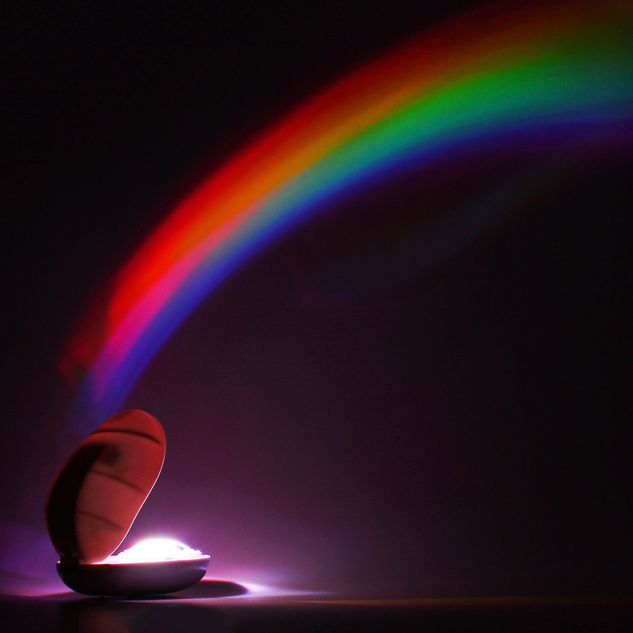 Tera - Proyector LED, luz romántica, arcoíris, ideal para un ...