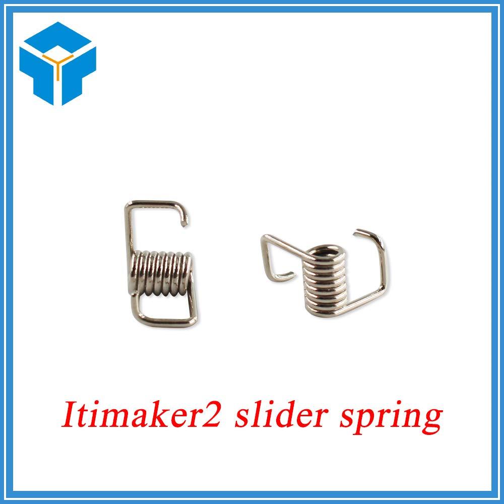 Zamtac 20pcs/lot 3D Printer Belt Locking Torsion Spring Tension Belt Pressure with Strong Spring for 3D Printer Parts by GIMAX (Image #1)