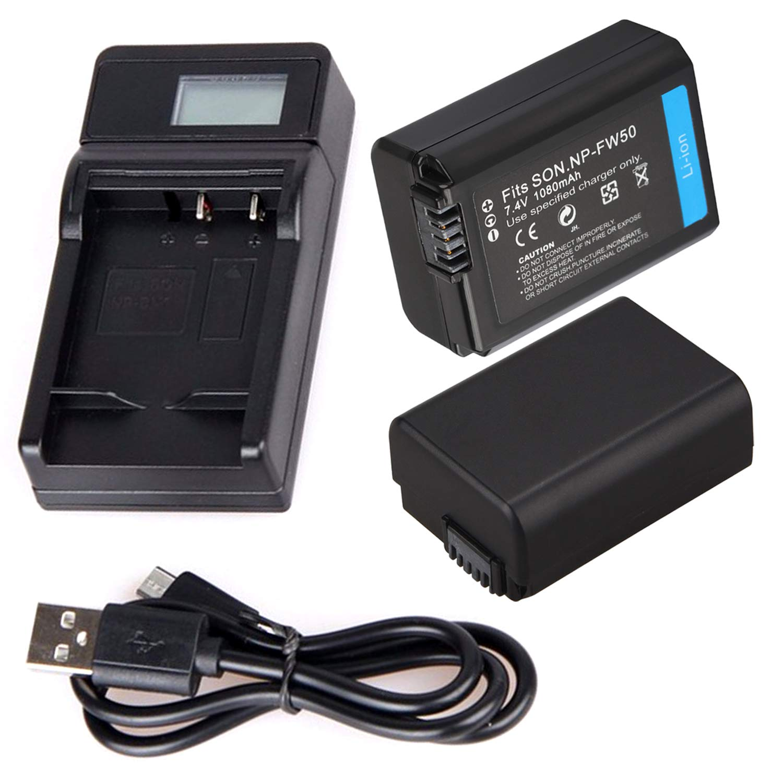 Cargador de batería USB portátil para cámara réflex Digital Sony ...