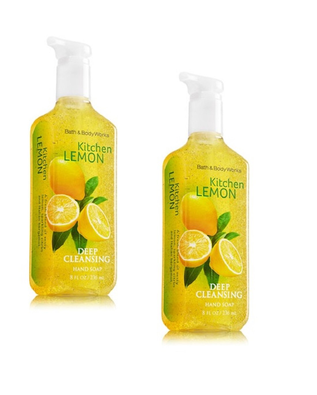 Bath Body Works Kitchen Lemon Deep Cleansing Hand Soap