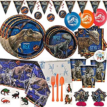 Amazon.com: Jurassic World Favor Bolsas, 8 ct (2 unidades ...