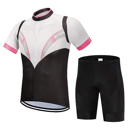 irugh Conjunto Ropa Equipacion Traje Ciclismo Hombre para ...