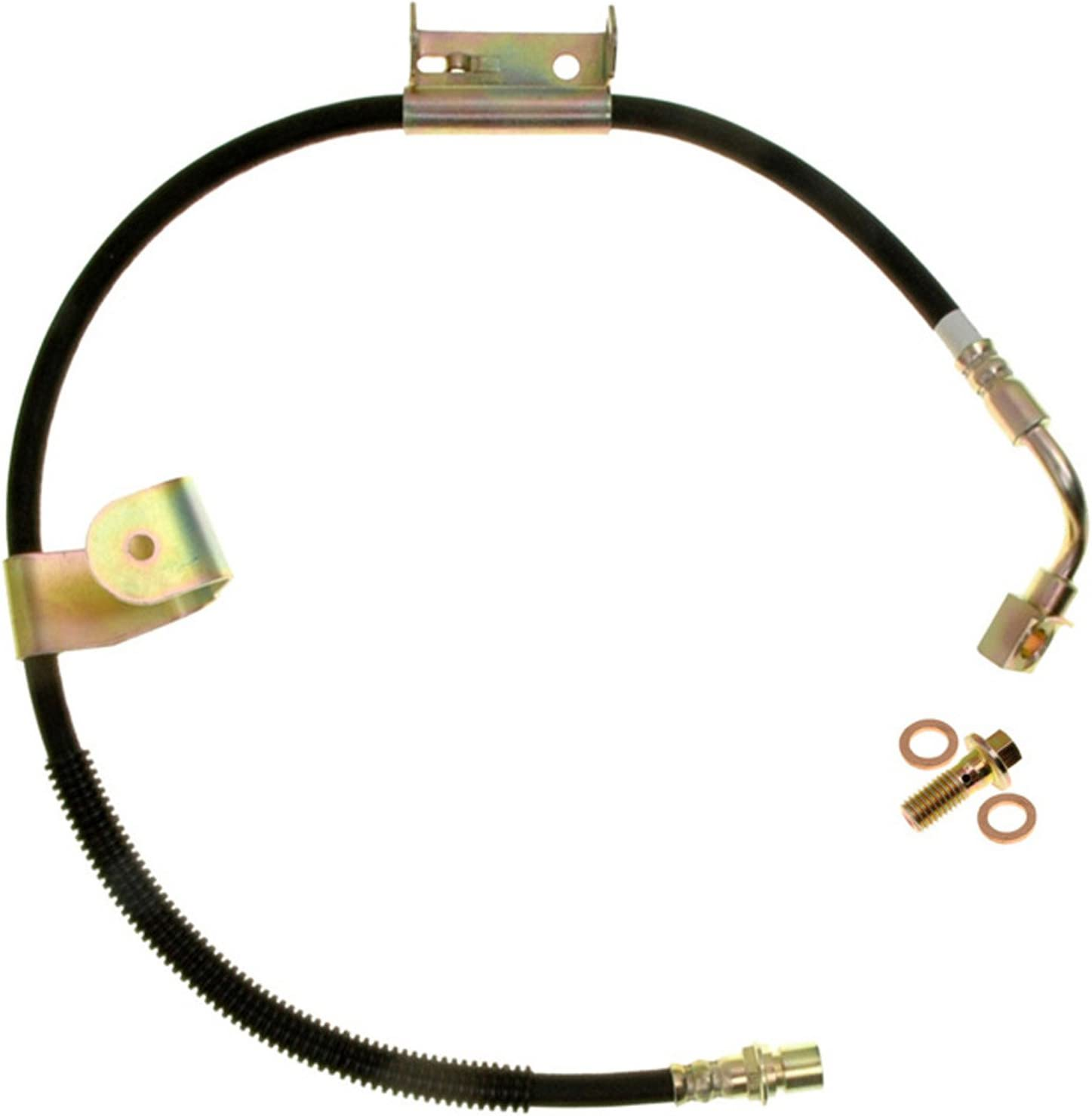 ACDelco 18J1880 Professional Front Passenger Side Hydraulic Brake Hose Assembly