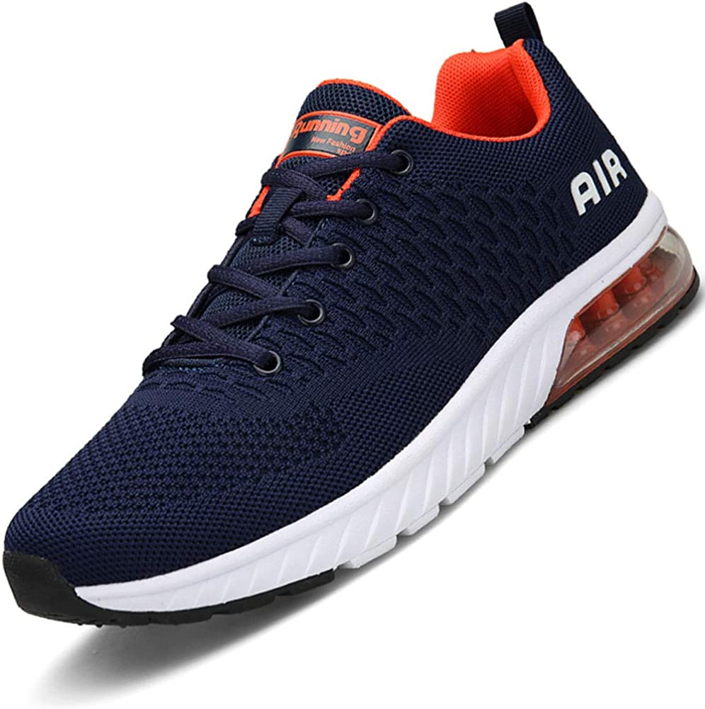 Men Women Running Shoes Sports Trainers Shock Absorbing Sneakers for Walking Gym Jogging Fitness Athletic Casual