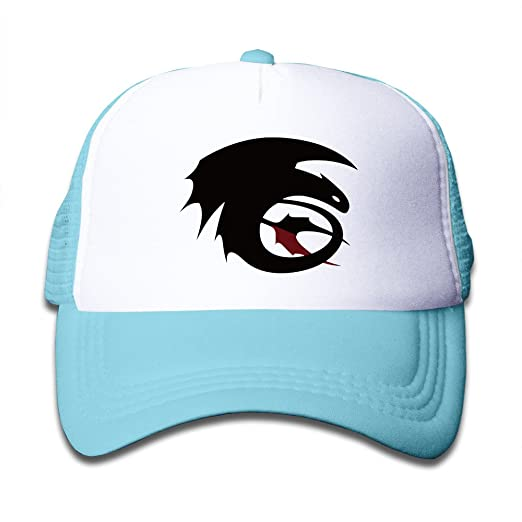 093f7e15f12 Kid s Boys And Girls Cool How To Train Your Dragon Toothless Baseball Cap  SkyBlue
