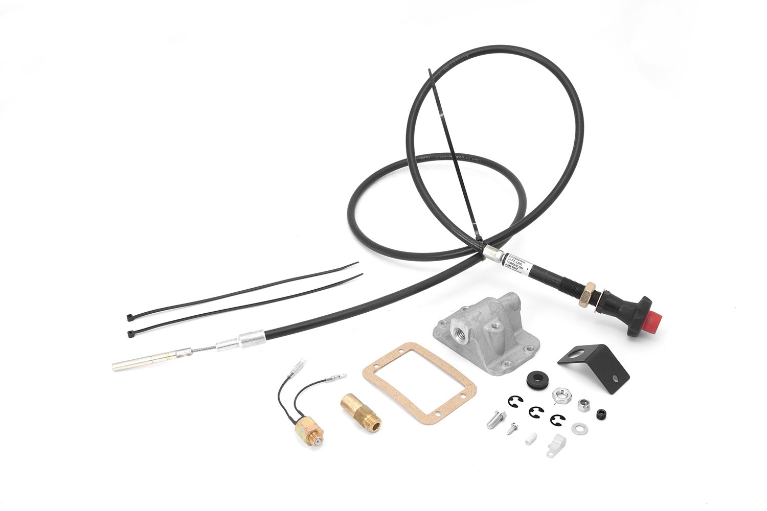 Alloy USA 450400 Differential Cable Lock Kit for 1994-2004 Dodge 1500/2500 with Dana 44 or Dana 60 Axle