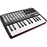 AKAI Professional APC Key 25 Compact USB Bus-Powered 40-Button Clip Launcher for Ableton Live with 25-Note Keyboard and 8 Fully-Assignable Q-Link Controls plus VIP 3.0 and  Software Package Included
