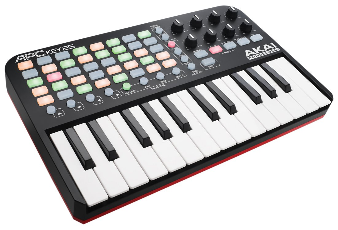 Akai Professional APC Key 25 | Ableton Performance Controller with Keyboard, VIP Software Download Included inMusic Brands Inc.