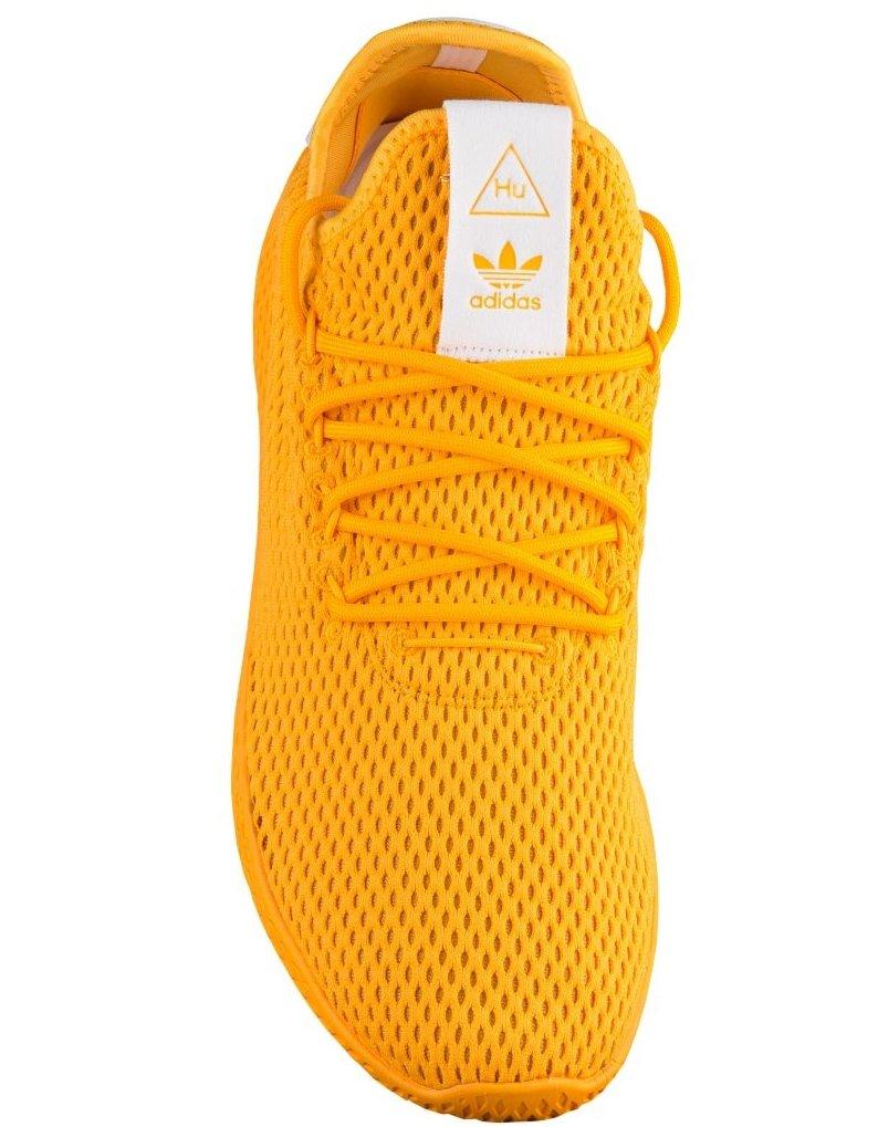 adidas Men's Pw Tennis Hu Sneaker B076JT6789 5 D(M) US Yellow