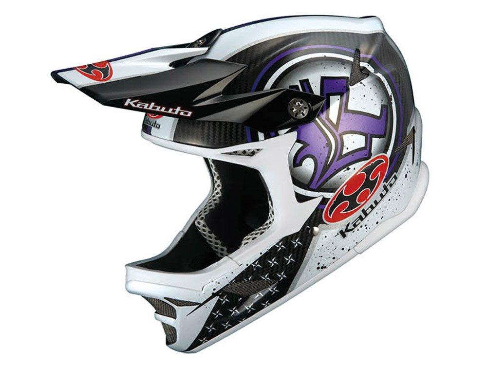 オージーケー(OGK) IXA-C フルフェイスヘルメット テクト(ホワイトパープル) M/L   B00B7082UW