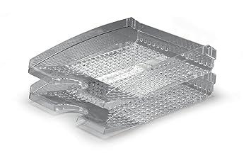 Durable Trend 1701626400 - Bandeja de escritorio, transparente