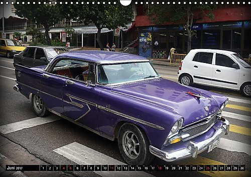 Auto Legenden DESOTO Wandkalender 2017 DIN A3 quer : Der US-Klassiker DESOTO auf Kuba Monatskalender, 14 Seiten: Amazon.es: Libros