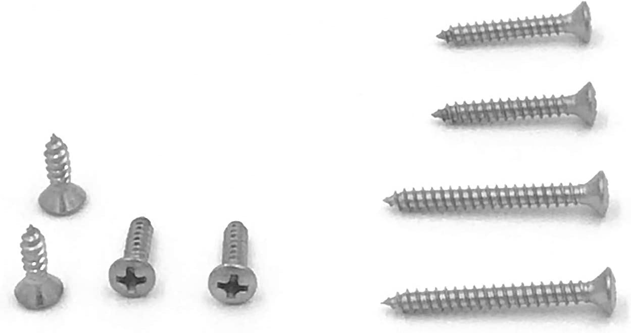#4 x 3//4 Qty-250 Phillips Oval Head Sheet Metal Screws 18-8 Stainless Steel
