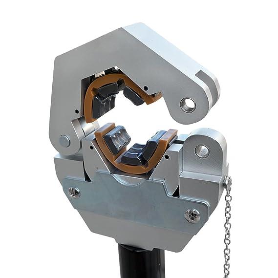 DCHOUSE crimpadora de manguera hidráulica 71500 manual A/C Kit de crimpadora de manguera de aire acondicionado reparación de mano hidráulica herramienta de ...